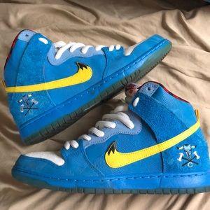 pretty nice fcbfd 2f0ed Nike Shoes   Dunk High Premium Sb Blue Ox La Familia   Poshmark nike sb dunk